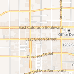 Directions for PHILLIPS AND COMPANY in Pasadena, CA 909 E Green St