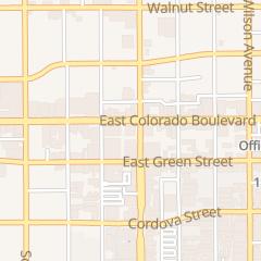 Directions for Chase Bank in Pasadena, CA 860 E Colorado Blvd