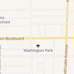 Directions for Agape Christian Church of Pasadena in Pasadena, CA 681 E Washington Blvd