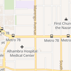 Directions for Subway Sandwiches & Salads in Alhambra, CA 1701 W Main St
