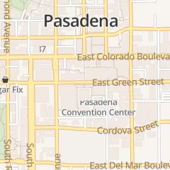 Directions for Pasadena Convention Center in Pasadena, CA 300 e Green St
