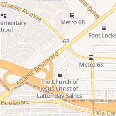 Directions for Peek Jerry B Inc. in Monterey Park, CA 2328 S Atlantic Blvd