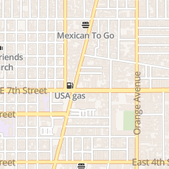 Directions for Shining Nails in Long Beach, CA 1027 E 7th St