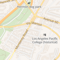 Directions for Hermon Free Methodist Church in Los Angeles, CA 5718 Monterey Rd