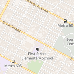Directions for Tenrikyo Mission in Los Angeles, CA 2803 E 1st St