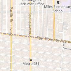 Directions for Sanctuary of Our Lady of Guadalupe in Huntington Park, CA 2721 E Florence Ave