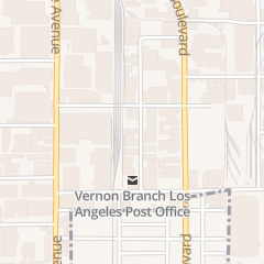 Directions for Blue Hand Manufacturing in Vernon, CA 4829 Hampton St