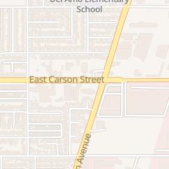 Directions for Connie Barber Salon in Carson, CA 1816 E Carson St