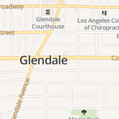 Directions for The Spa in Glendale, CA 624 E Colorado St
