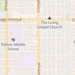 Directions for Living Gospel Church in Los Angeles, CA 6601 Compton Ave