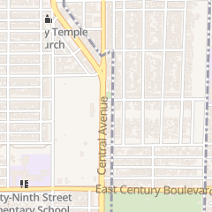 Directions for Jennie's Child Care in Los Angeles, CA 9626 S Central Ave