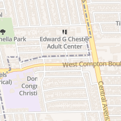 Directions for Crystal Stairs in Compton, CA 2209 W Compton Blvd