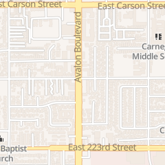 Directions for Cosmoprof in Carson, CA 22020 Avalon Blvd