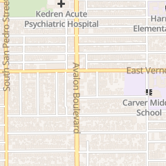 Directions for Fellowship Baptist Church in Los Angeles, CA 4418 Avalon Blvd