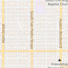 Directions for Iglesia Evangelica Bautista Gerizim in Los Angeles, CA 9716 S San Pedro St