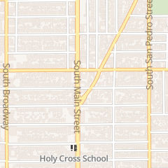 Directions for Bethesda Baptist Church in Los Angeles, CA 4420 S Main St