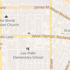 Directions for Iglesia Pentecostes LA Piedra Viva in Los Angeles, CA 2559 W Olympic Blvd