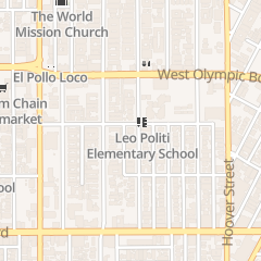 Directions for Hollywood Hyo Soon Presbyterian Church in Los Angeles, CA 1101 Elden Ave