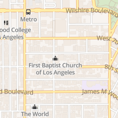 Directions for First Baptist Church of Los Angeles in Los Angeles, CA 760 S Westmoreland Ave