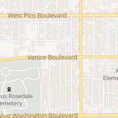 Directions for El Tabernaculo Del Testimonio in Los Angeles, CA 1812 Venice Blvd
