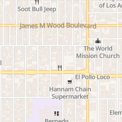 Directions for Berendo Street Baptist Church in Los Angeles, CA 975 S Berendo St