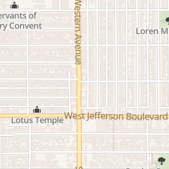 Directions for Christian Church Disciples of Christ of the Pacific Southwest Re - 30th Street Christian Church in Los Angeles, CA 3000 S Western Ave