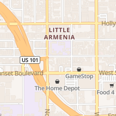 Directions for Armenian Brotherhood Bible Church in Los Angeles, CA 5656 Harold Way