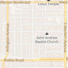 Directions for Los Angeles Holiness Church in Los Angeles, CA 3660 S Gramercy Pl