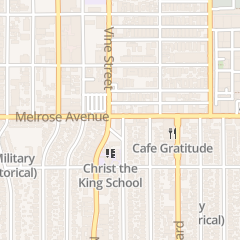 Directions for Radioshack in Los Angeles, CA 5786 Melrose Ave