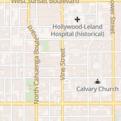 Directions for M Bar in Los Angeles, CA 1253 Vine St Ste 2