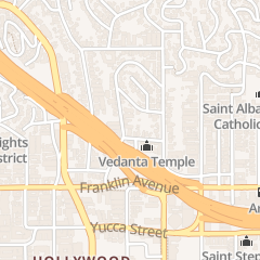 Directions for Vidanta Society of So. Calif. in Los Angeles, CA 2000 Ivar Ave
