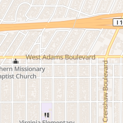 Directions for Messiah Baptist Church in Los Angeles, CA 4500 W Adams Blvd