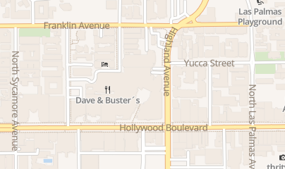 Directions for Level 3 Nightclub Hollywood & Highland Complex in Los Angeles, CA 6801 Hollywood Blvd Ste 341
