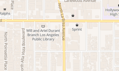Directions for Crazy Girls in Los Angeles, CA 1433 N LA Brea Ave