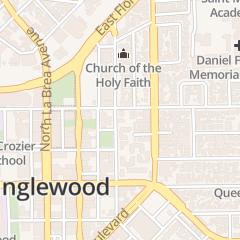 Directions for Benjamin Braziel Iii Dds in Inglewood, CA 128 N Locust St