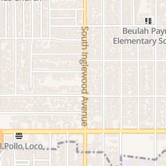 Directions for City of Inglewood - Park and Recreation Department in Inglewood, CA 9717 S Inglewood Ave