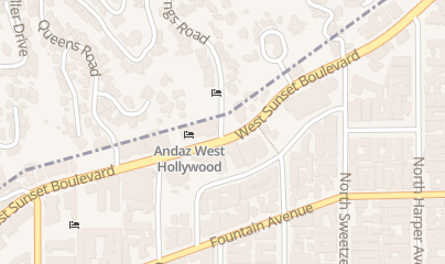 Directions for Hyatt Resorts in West Hollywood, CA 8401 W Sunset Blvd