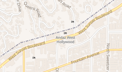 Directions for Comedy the Store in West Hollywood, CA 8433 W Sunset Blvd