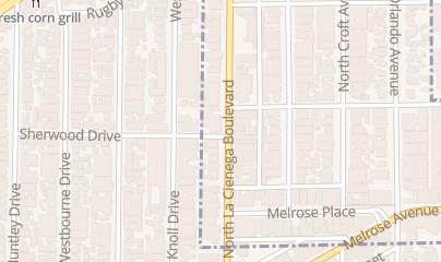 Directions for Poppy Nightclub in Los Angeles, CA 755 N LA Cienega Blvd