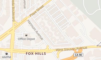 Directions for Aquatech Aquarium Service in Culver City, CA 8013 Hannum Ave.