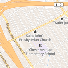 Directions for St John's Presbyterian Church in Los Angeles, CA 11000 National Blvd