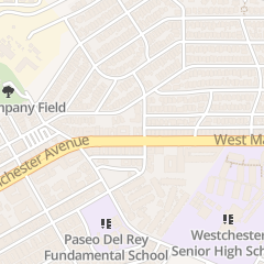 Directions for Del Rey Hills Evangelical Free Church in Playa Del Rey, CA 8505 Saran Dr