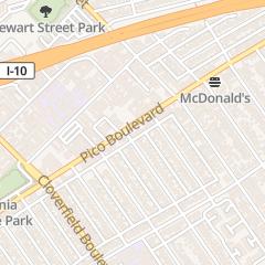 Directions for Mandarin Chinese Japanese Cuisine in Santa Monica, CA 2618 Pico Blvd
