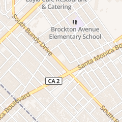 Directions for Advanced Coin Laundry & Appliance Repair in Los Angeles, CA 1450 S Bundy Dr