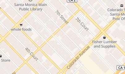 Directions for Disco Eye Wonder Inc Santa M in Santa Monica, CA 1513 6th St
