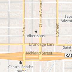Directions for Sav-on Pharmacy in Bakersfield, CA 1520 Brundage Ln