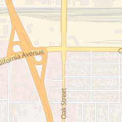 Directions for Happy Massage in Bakersfield, CA 1220 Oak St