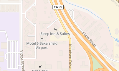 Directions for T and T Liberty Sales in Bakersfield, CA 6201 Knudsen Dr
