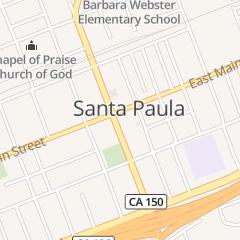 Directions for LA Terraza in Santa Paula, CA 1000 E Main St