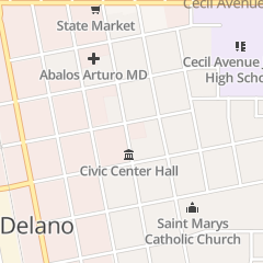 Directions for Christian Science Reading Room in Delano, CA 1106 Kensington St